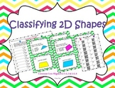 Classifying 2D Shapes Task Cards ~Aligned to CCSS 5.G.3 & 5.G.4