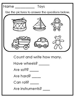 Grouping And Counting Worksheets