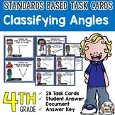 Classifying Angles - 24 angles to measure and classify
