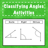 Classifying Angles: Acute, Right, or Obtuse?