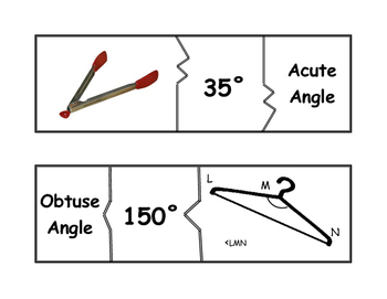 Classifying Angles Puzzle