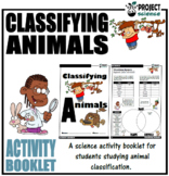 Classifying Animals Activity Booklet