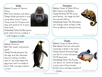 Classifying Animals: A Semantic Feature Analysis Activity