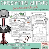 Classifying Animals Differentiated Center Activities