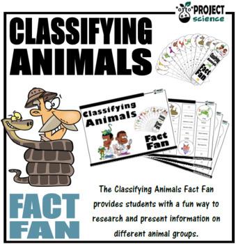 Classifying Animals Fact Fan
