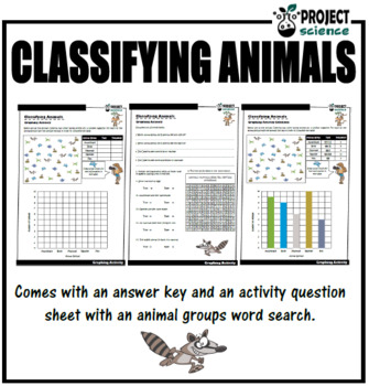 Classifying Animals Graphing Activity