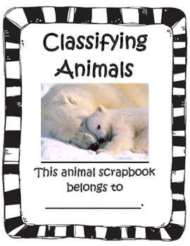 Classifying Animals Journal