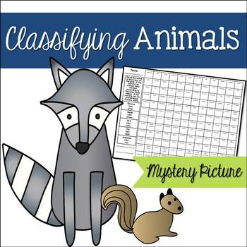 Classifying Animals Mystery Picture