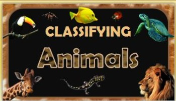 Classifying Animals {Presentation}