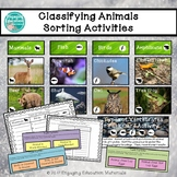 Classifying Animals Sorting Activities