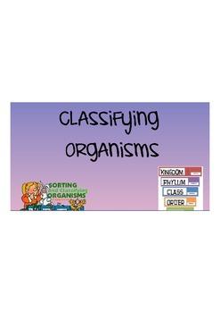 Classifying Animals and Plants Flipchart
