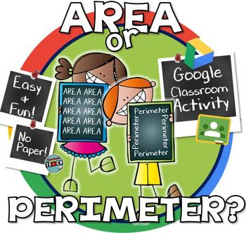 Classifying Area & Perimeter in the Real World - GOOGLE CLASSROOM