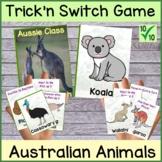 Australian Animal Classification Card Game UNO Style Fun H