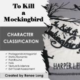 To Kill a Mockingbird Characterization Classification