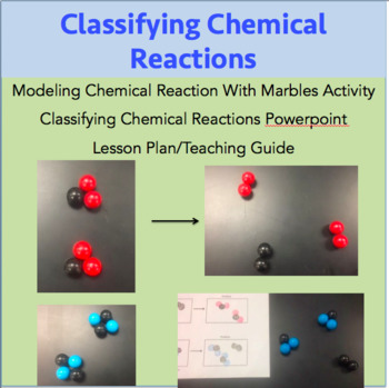Classifying Chemical Reactions Activity, Powerpoint and Lesson Plan