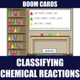 Classifying Chemical Reactions Boom Cards | Distance Learning