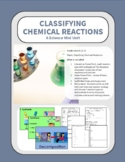 Classifying Chemical Reactions Based on the Simpsons - Mini-unit