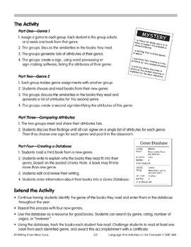 Classifying Children's Literature (computer project)