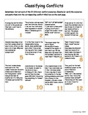 Classifying Conflict - Interactive Graphic Organizer