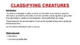 Classifying Creatures