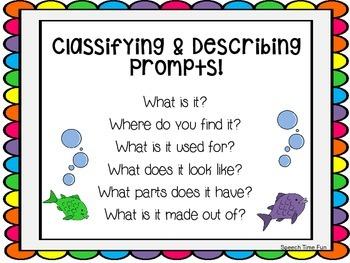 Classifying and Describing Fishing