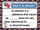 Chemistry: Classifying Matter - Elements, Compounds, Mixtures - Activity Bundle
