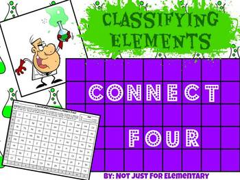 Classifying Elements as Metal, Nonmetal, or Metalloid: Connect Four