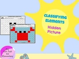 Classifying Elements as Metal, Nonmetal, or Metalloid: Hidden Crab Picture