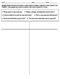 Classifying Explicit vs. Implicit Information: T-Chart (DOK 2)