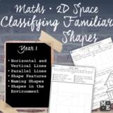 Classifying Familiar Shapes