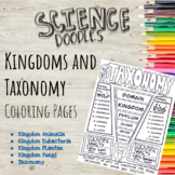 Classifying Kingdoms and Taxonomy Color to Learn Pages!