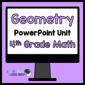 Geometry Math Unit 4th Grade Common Core