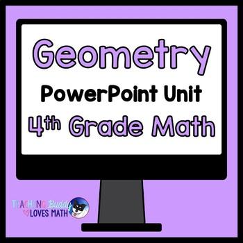 Geometry Math Unit 4th Grade Common Core