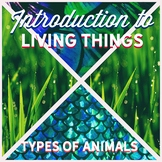 Classifying Living Things- Animals (Powerpoint and note ta