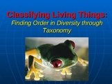 Classifying Living Things: Finding Order in Diversity through Taxonomy
