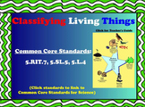 Classifying Living Things Presentation and Activities for