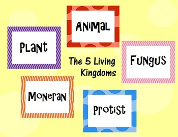 Classifying Living Things Taxonomy PowerPoint Presentation- How to Classify