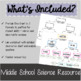 Classifying Matter Lab Activity - Middle School Science