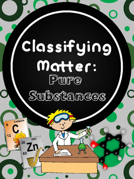 Classifying Matter: Pure Substances