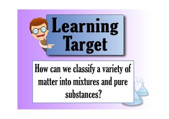 Classifying Matter: Pure Substances and Mixtures