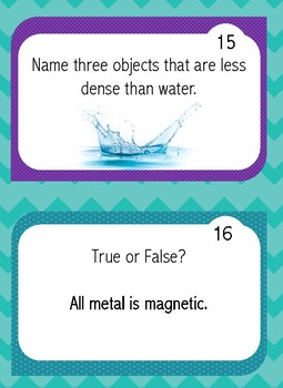 Classifying Matter Science Scoot Game