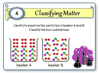 Classifying Matter - Task Cards {With Editable Template}