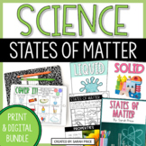 Classifying Matter Worksheets and Digital Activities Bundle