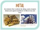Classifying Metals, Nonmetals, and Metalloids - 6th Grade Science Vocabulary