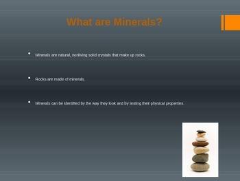 Minerals Powerpoint (Editable)