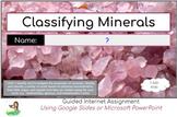Classifying Minerals Webquest
