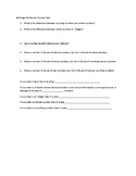 Classifying Numbers Bell Ringer or Exit Slip