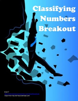 Classifying Numbers Breakout (Digital Escape Room)