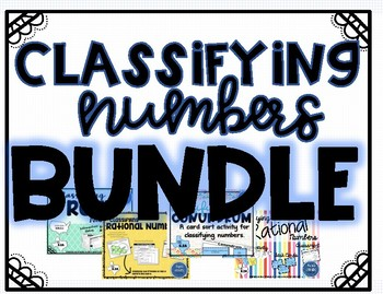 Classifying Numbers - Bundle