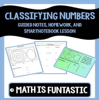 Classifying Numbers Lesson